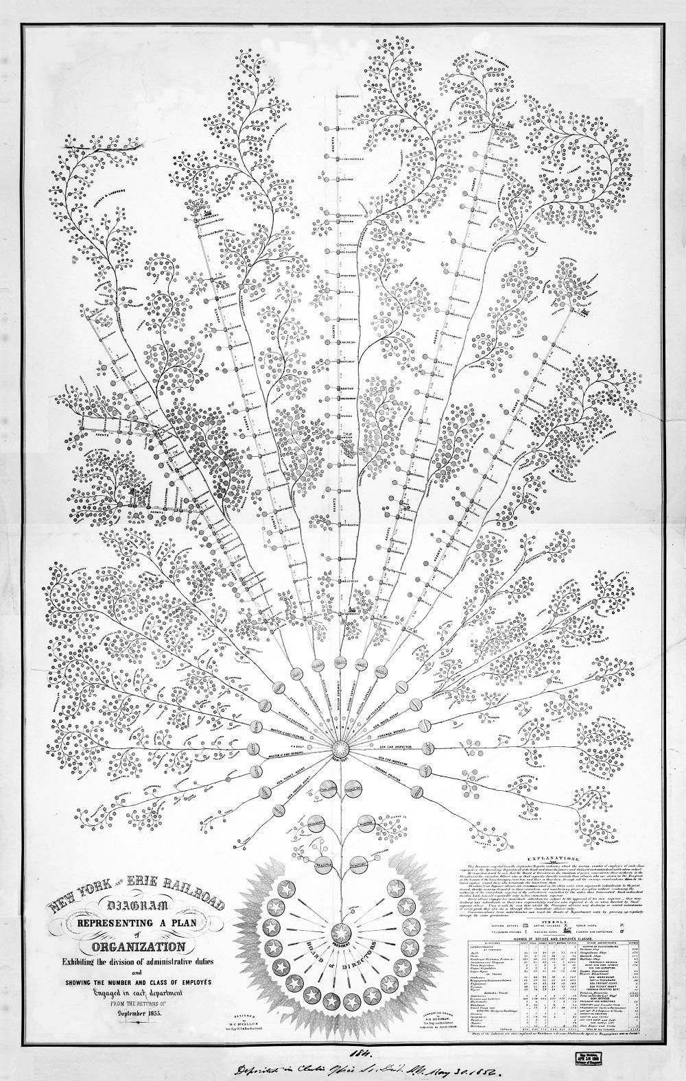 First Organizational Chart